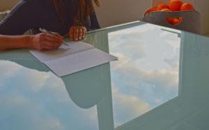 lettera vetro